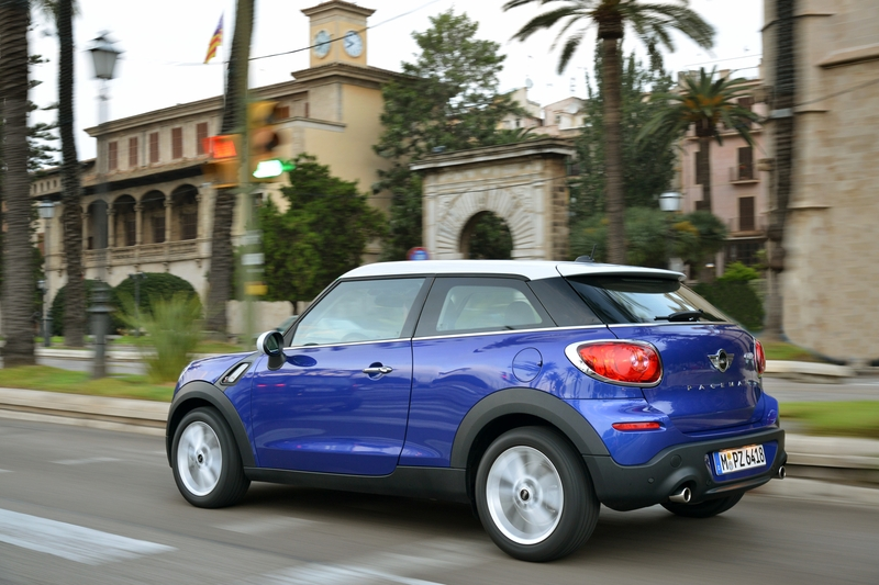 MINI Paceman Starlight Blue