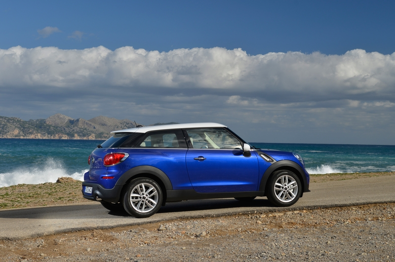 MINI Paceman Starlight Blue<br />