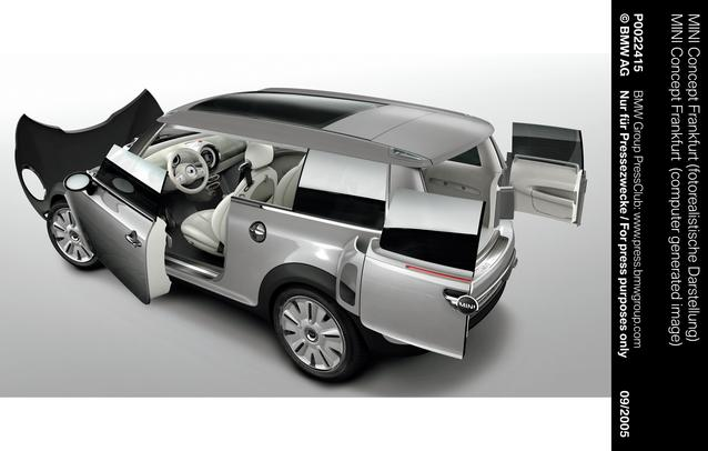 MINI Concept Frankfurt (computer generated image) (09/2005)