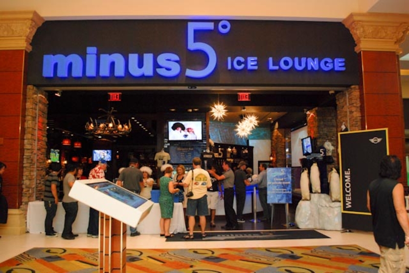 MTTS 2010 visits Minus5 at Mandalay Bay in Las Vegas<br />