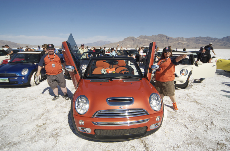 MTTS at the Bonneville Salt Flats<br />