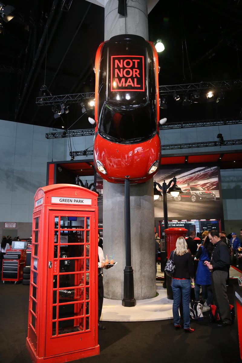 2012 LA Auto Show - MINI Paceman North American Premiere