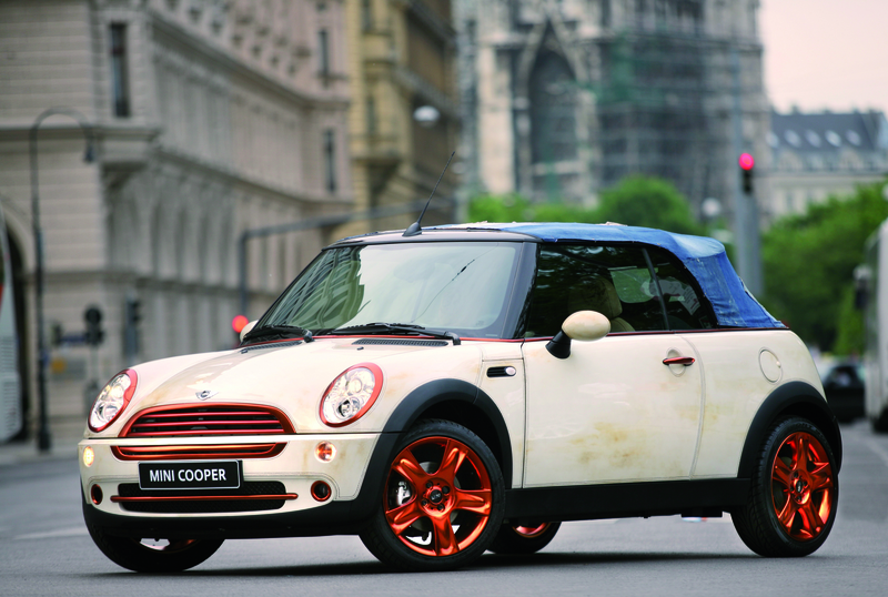 MINI Cabrio designed by Diesel / Renzo Rosso, Life Ball 2006 (05/2006)