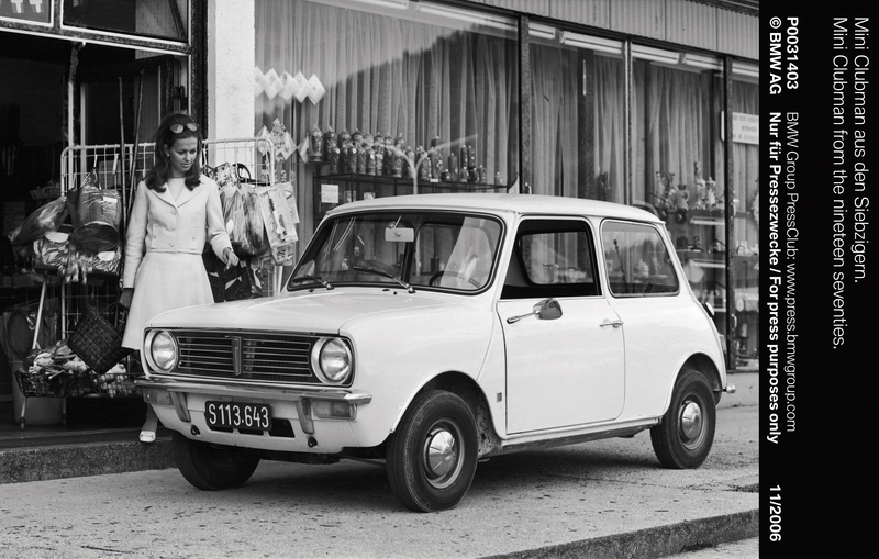 Mini Clubman from the nineteen seventies (11/2006)<br />