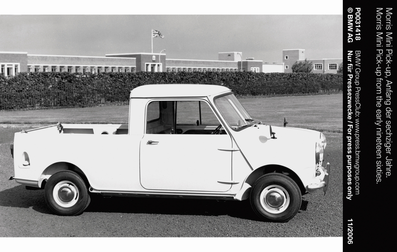 Morris Mini Pick-up from the early nineteen sixties (11/2006)<br />