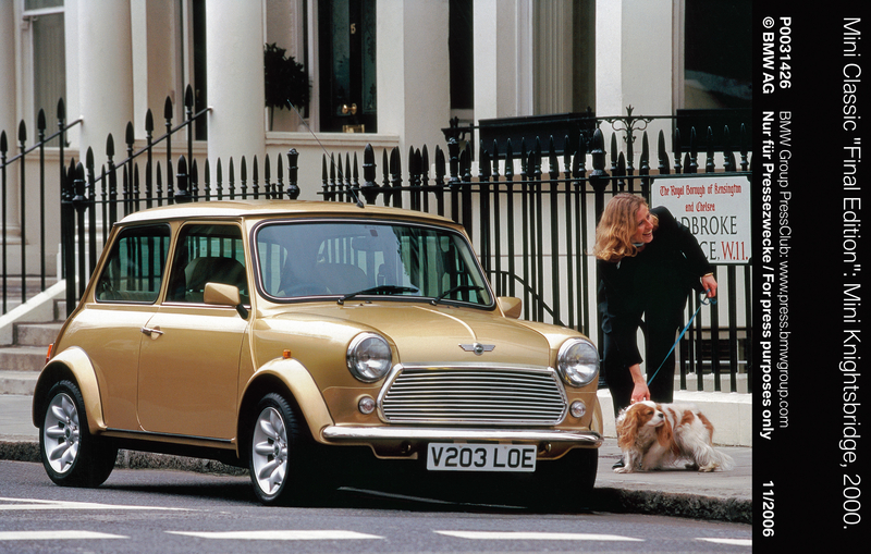 "Mini Classic ""Final Edition"": Mini Knightsbridge, 2000 (11/2006)<br />"