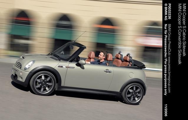 MINI Cooper S Convertible Sidewalk (11/2006)