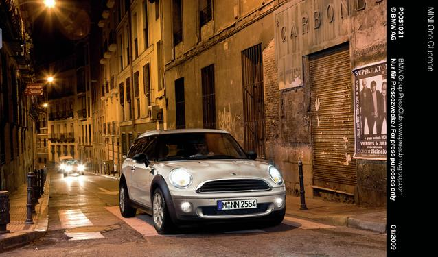 MINI One Clubman (01/2009)