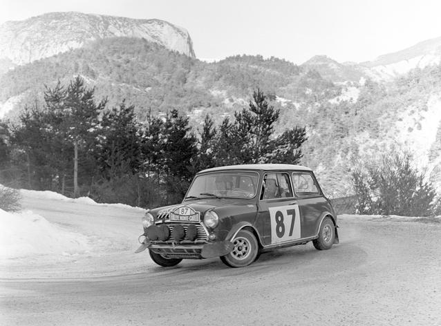 Mini Cooper S at the Monte Carlo Rally (03/2009)