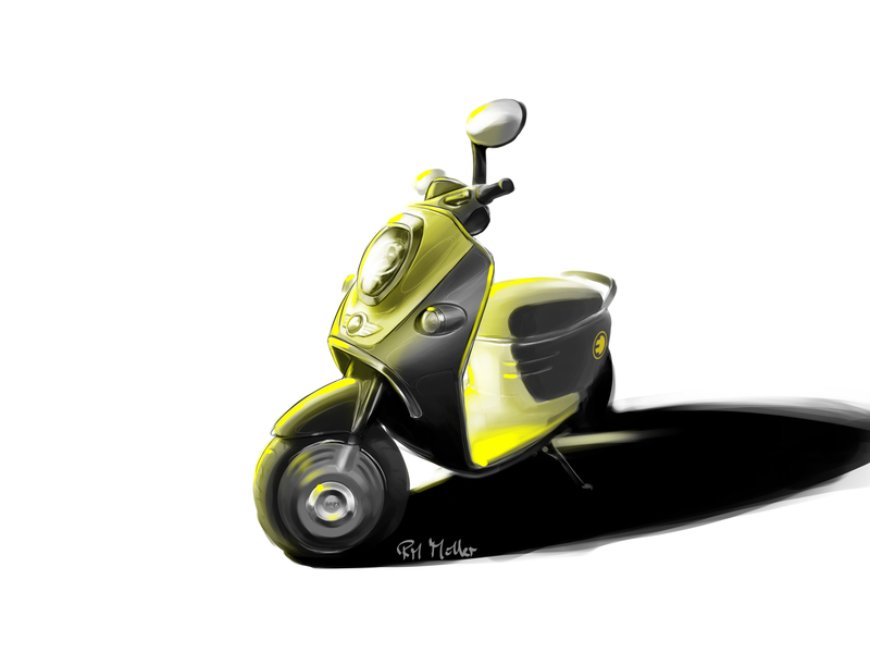 MINI Scooter E Concept<br />