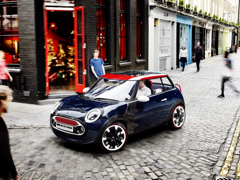 MINI Rocketman Concept Exterior<br />