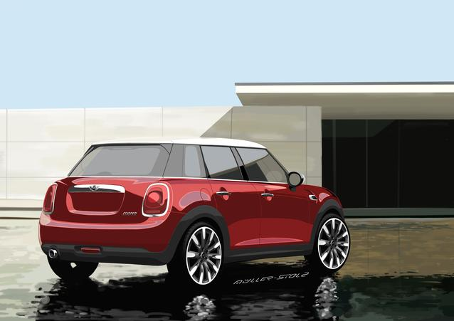 The new MINI Hardtop 4 door. (06/2014)