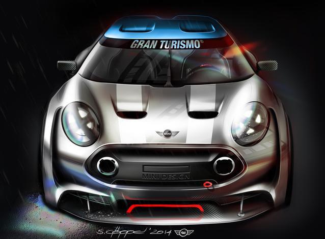 MINI Clubman Vision Gran Turismo. (02/2015)