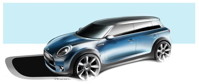 2016 New MINI Clubman Design