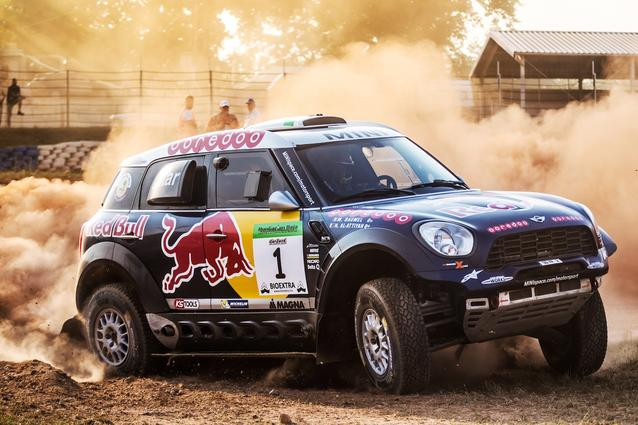 2015 Hungarian Baja, Special Stage, Nasser Al-Attiyah (QAT), Mathieu Baumel (FRA) - MINI ALL4 Racing #1 - Qatar Rally Team - 14.08.2015