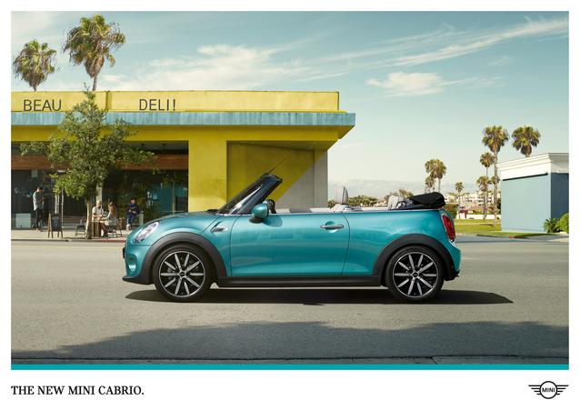 "Global campaign for the new MINI Convertible: ""Stay Open"" (11/2015)."