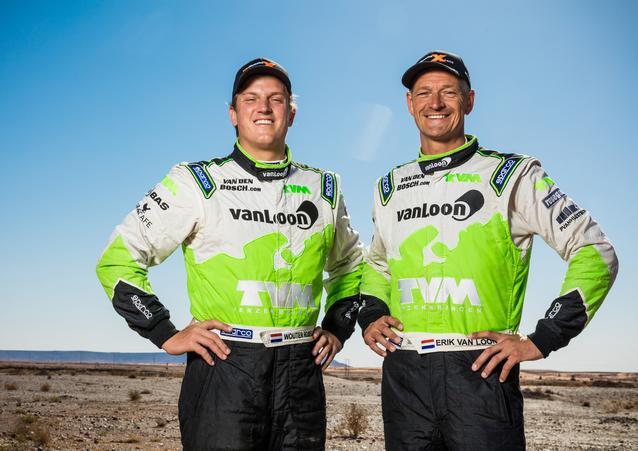Erik van Loon (NDL) Wouter Rosegaar (NDL) – MINI ALL4 Racing – Van Loon Racing – Dakar 2016 (11/2015)