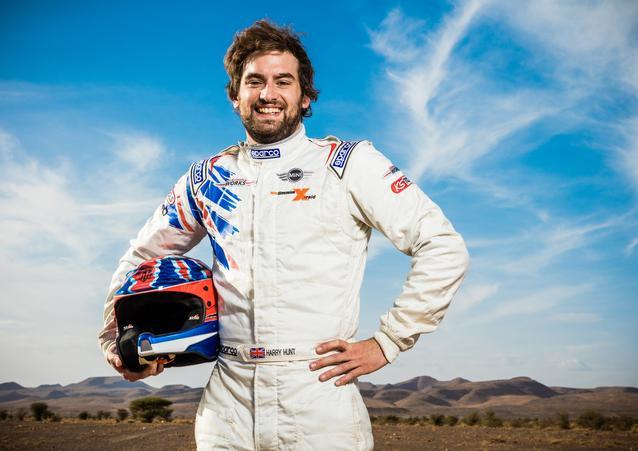 Harry Hunt (GB) – MINI ALL4 Racing – X-raid Team – Dakar 2016 (11/2015)