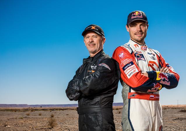 "Jakub ""Kuba"" Przygonski (POL) Andrei Rudnitski (BLR) – MINI ALL4 Racing – ORLEN Team – Dakar 2016 (11/2015)"