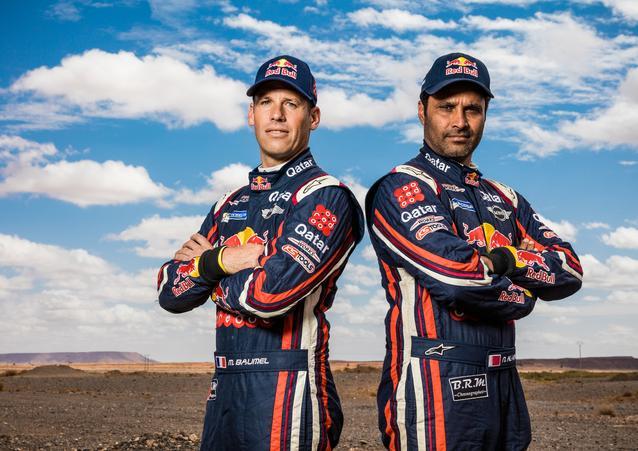 Nasser Al-Attiyah (QAT) Mathieu Baumel (FRA) – MINI ALL4 Racing – X-raid Team – Dakar 2016 (11/2015)