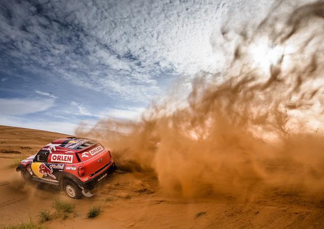 Adam Malysz (POL) Xavier Panseri (FRA) – MINI ALL4 Racing – ORLEN Team – Dakar 2016 (11/2015)