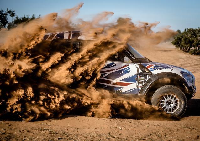 Harry Hunt (GB) Andreas Schulz (GER) – MINI ALL4 Racing – X-raid Team – Dakar 2016 (11/2015)