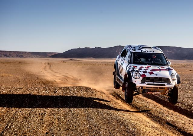 "Joan ""Nani"" Roma (ESP) Alex Haro (ESP) – MINI ALL4 Racing – X-raid Team – Dakar 2016 (11/2015)"