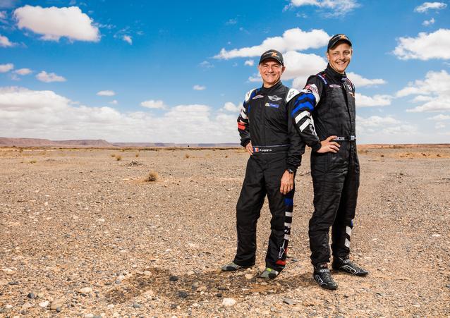 Mikko Hirvonen (FIN) Michel Périn (FRA) – MINI ALL4 Racing – X-raid Team – Dakar 2016 (11/2015)