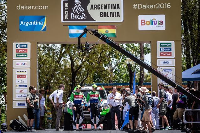 2016 Dakar, Erik van Loon (NDL), Wouter Rosegaar (NDL) - Van Loon Racing 306 - 02.01.2016