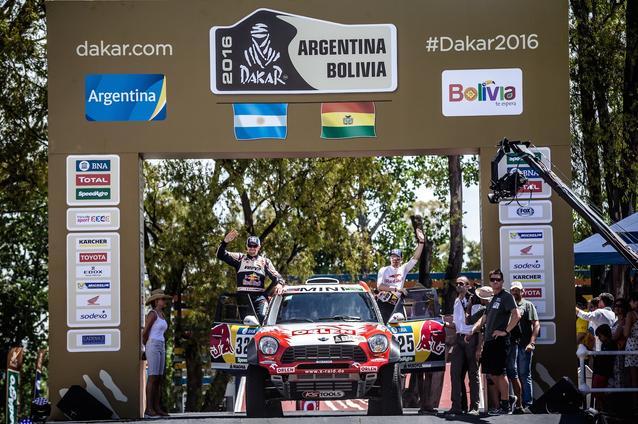 2016 Dakar, Adam Malysz (POL), Xavier Panseri (FRA) - ORLEN Team 325 - 02.01.2016