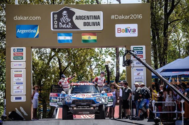 2016 Dakar, Jakub Kuba Przygonski (POL), Andrei Rudnitski (BLR) - ORLEN Team 327 - 02.01.2016