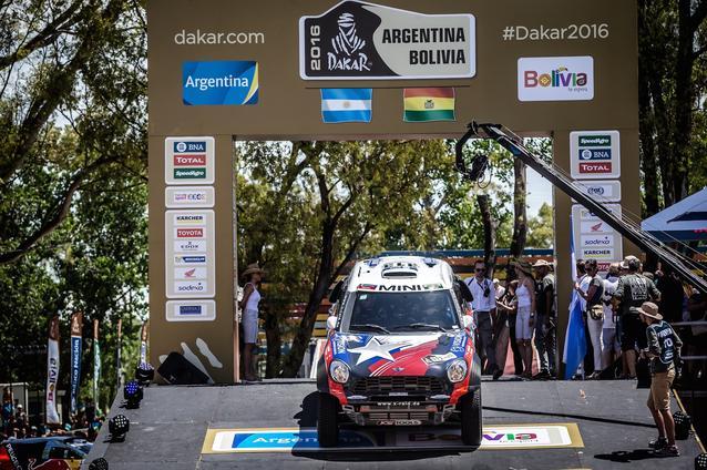 2016 Dakar, Boris Garafulic (CHL), Filipe Palmeiro (POR) - X-raid Team 313 - 02.01.2016