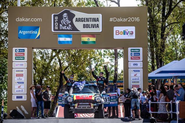 2016 Dakar, Nazareno Lopez (ARG), Sergio Lafuente (URU) - X-raid Team 351 - 02.01.2016