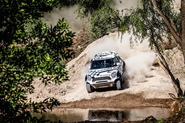 2016 Dakar, Orlando Terranova (ARG), Bernardo Ronnie Graue (ARG) - AXION X-raid Team 310 - 02.01.2016