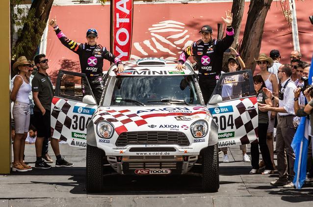 2016 Dakar, Joan Nani Roma (ESP), Alex Haro (ESP) - AXION X-raid Team 304 - 02.01.2016