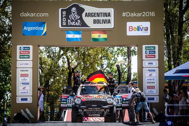 2016 Dakar, Stephan Schott (GER), Holm Schmidt (GER) - X-raid Team 331 - 02.01.2016