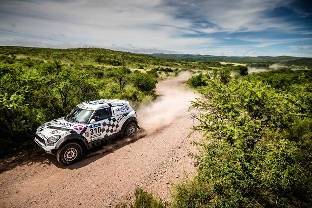 2016 Dakar, Orlando Terranova (ARG), Bernardo Ronnie Graue (ARG) - AXION X-raid Team 310 - 05.01.2016