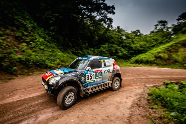 2016 Dakar, Nazareno Lopez (ARG), Sergio Lafuente (URU) - X-raid Team 351 - 06.01.2016
