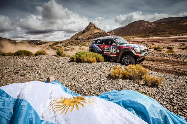 2016 Dakar, Boris Garafulic (CHL), Filipe Palmeiro (POR), MINI ALL4 Racing - X-raid Team 313 - 06.01.2016