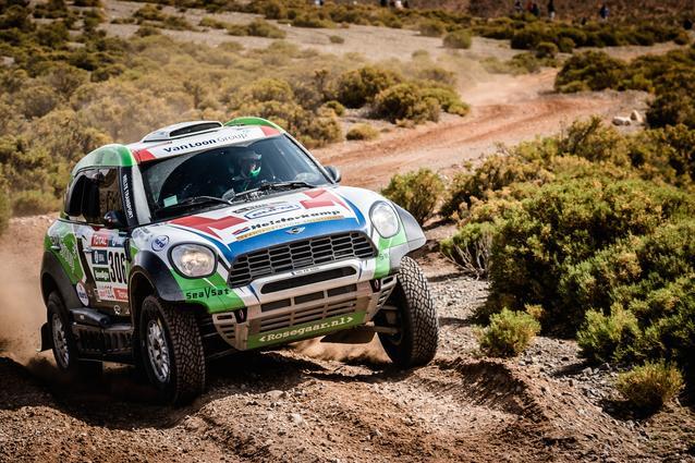 2016 Dakar, Erik van Loon (NDL), Wouter Rosegaar (NDL), MINI ALL4 Racing - Van Loon Racing 306 - 06.01.2016