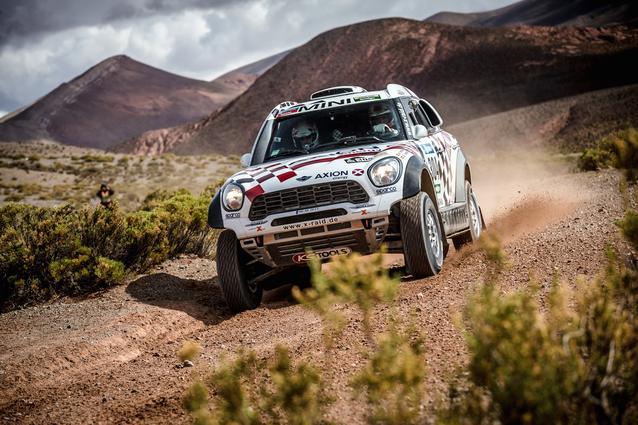 2016 Dakar, Joan Nani Roma (ESP), Alex Haro (ESP), MINI ALL4 Racing - AXION X-raid Team 304 - 06.01.2016