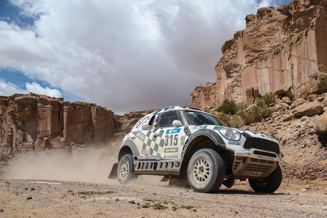 2016 Dakar, Mikko Hirvonen (FIN), Michel Perin (FRA), MINI ALL4 Racing - AXION X-raid Team 315 - 06.01.2016