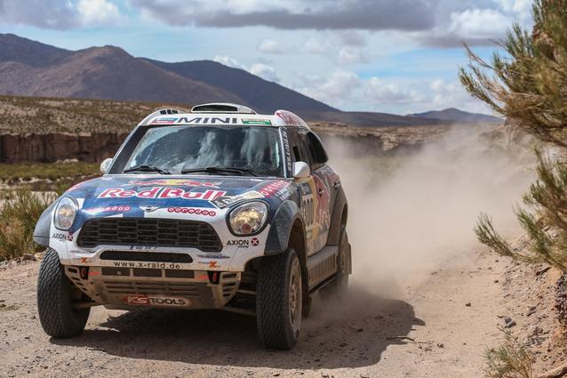 2016 Dakar, Nasser Al-Attiyah (QAT), Mathieu Baumel (FRA), MINI ALL4 Racing - AXION X-raid Team 300 - 06.01.2016