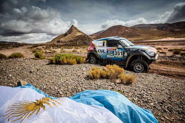 2016 Dakar, Nazareno Lopez (ARG), Sergio Lafuente (URU), MINI ALL4 Racing - X-raid Team 351 - 06.01.2016