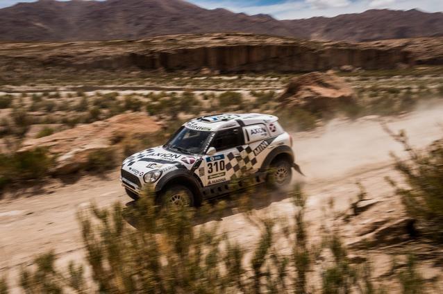 2016 Dakar, Orlando Terranova (ARG), Bernardo Ronnie Graue (ARG), MINI ALL4 Racing - AXION X-raid Team 310 - 06.01.2016