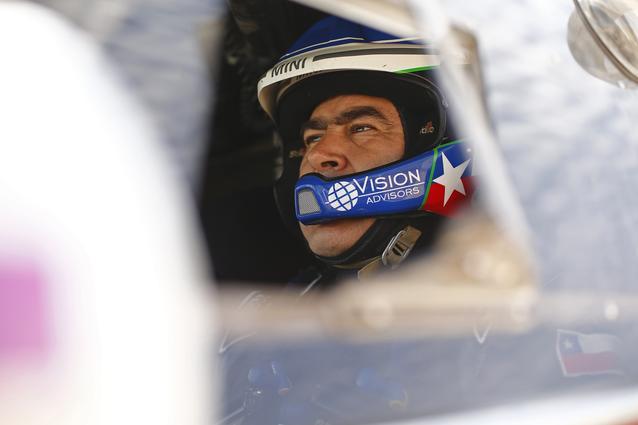 2016 Dakar, Boris Garafulic (CHL), Filipe Palmeiro (POR), MINI ALL4 Racing - X-raid Team 313 - 08.01.2016