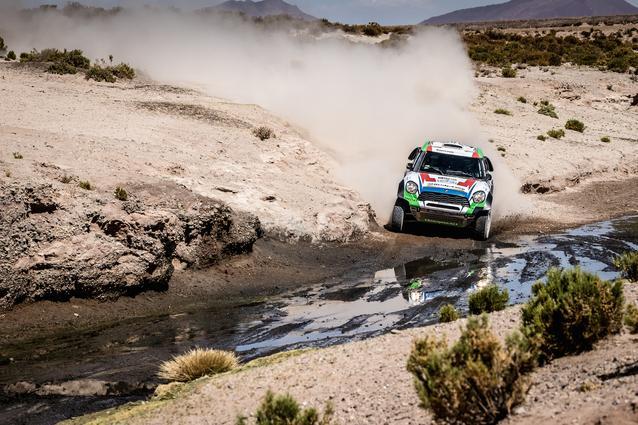 2016 Dakar, Erik van Loon (NDL), Wouter Rosegaar (NDL), MINI ALL4 Racing- Van Loon Racing 306 - 08.01.2016