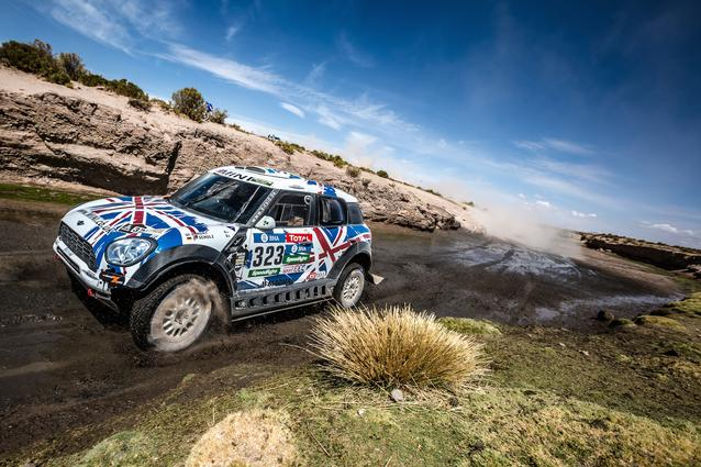 2016 Dakar, Harry Hunt (GBR), Andreas Schulz (GER), MINI ALL4 Racing - X-raid Team 323 - 08.01.2016
