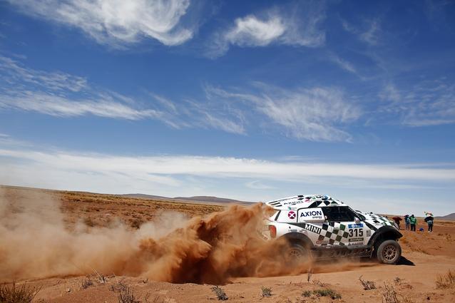 2016 Dakar, Mikko Hirvonen (FIN), Michel Perin (FRA), MINI ALL4 Racing - AXION X-raid Team 315 - 08.01.2016