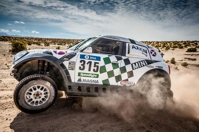 2016 Dakar, Joan Nani Roma (ESP), Alex Haro (ESP), MINI ALL4 Racing - AXION X-raid Team 304 - 08.01.2016